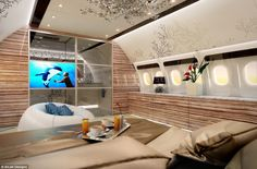 The ultimate luxury for frequent fliers is not to feel like they are cramped on a standard...