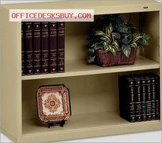 Tennsco B30SD Metal Bookcase - Sand - http://officedesksbuy.com/tennsco-b30sd-metal-bookcase-sand.html