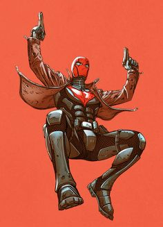 Jason Todd in Red Hood and The Outlaws: Future's End Batman Red Hood, Batman Robin, Gotham Batman, Batman Art, Batgirl, Red Hood Jason Todd, Arte Dc Comics, Marvel Comics, Univers Dc