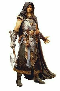 m Cleric Scale Symbol Axe Dagger Cloak Pouch Character Art - Warning, long load time, many images! in World of Greyhawk Player Resources Forum Fantasy Male, Fantasy Heroes, Fantasy Armor, Medieval Fantasy, High Fantasy, Dungeons And Dragons Characters, Dnd Characters, Fantasy Characters, Fantasy Portraits