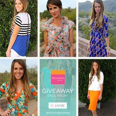 I just entered this great giveaway hosted by Jane.com and 3 Brunettes Boutique! Enter for your chance to win an awesome prize!!!