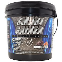 IDS Smart Gainer Chocolate Caramel - 10 lbs (160 oz) 4536 g #fitness #healthy #health #sports #fitnessmodel #gym