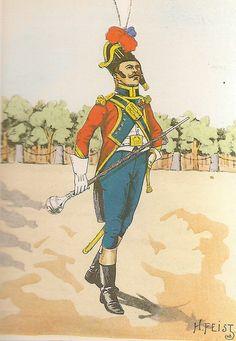 French; 26th Line Infantry, Drum-Major, Grande Tenue, 1809