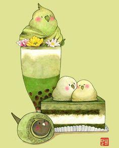 Anime Things - Food - Page 2 - Wattpad Cute Food Drawings, Cute Kawaii Drawings, Cute Animal Drawings, Kawaii Art, Cute Food Art, Cute Art, Pusheen Cute, Chibi Food, Food Sketch