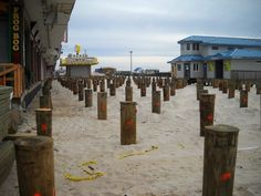 Timber piles const 150 methods materials pinterest for Wood piling foundation