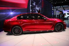 Infinity Q50 EAU Rouge Rad RED