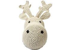 geweldig crochet rendier aan de muur Anne-Claire Petit   kinderen-shop Kleine Zebra