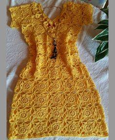Crochet Fairy, Diy Crochet, Crochet Designs, Crochet Patterns, Crochet Summer Dresses, Diy Inspiration, Fairy Dress, Dress Tutorials, Crochet Clothes