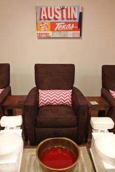 Nail chairs