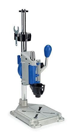 Dremel Rotary Tool Drill Press Workstation at Lowe's. It's a drill press, tool holder and flex shaft holder all in one. Drill accurate perpendicular and angled holes. Holds your tool in place for applications Dremel 4000, Dremel Drill, Dremel Rotary Tool, Dremel Workstation, Accessoires Dremel, Dremel Tool Accessories, Tool Stand, Drill Press, Woodworking Tips