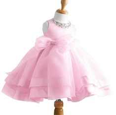 Girls Vintage Style Satin Tulle Flower Girl Pageant wedding Dress -- Click on the image for additional details.