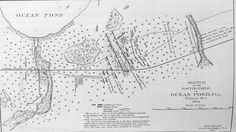 Florida Memory - Sketched map of the battlefield of Ocean Pond - Olustee, Florida