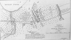 Florida Memory - Sketched map of the battlefield of Ocean Pond - Olustee, Florida