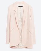 4 POWER SUITS | THECHICITALIAN | 4 power suits that add confidence & personality to your workwear - Zara neutral blazer
