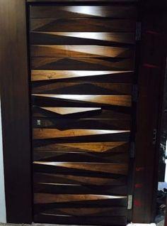 53 Best ideas for wooden door modern entrance Room Door Design, Door Design Interior, Main Door Design, Wooden Door Design, Wooden Doors, Entrance Design, Modern Entrance Door, Modern Front Door, Entrance Doors