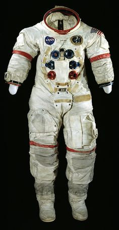 Spacesuit was worn by Apollo 14 Commander Alan Shepard. Apollo 14 launched on January 31, 1971 carrying astronauts Alan Shepard, Edgar Mitchell, and Stuart Roosa on a mission to land on the Moon in the Fra Mauro region, the intended landing site of the aborted Apollo 13 mission.