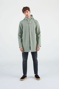 a452231a768 Stockholm Khaki Green - Man – Stutterheim Raincoats