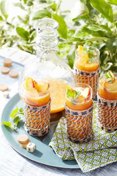 Cool, Refreshing Summer Drinks | Fruit-filled, kid-friendly punches and adult-pleasing cocktails are perfect treats on hot days.