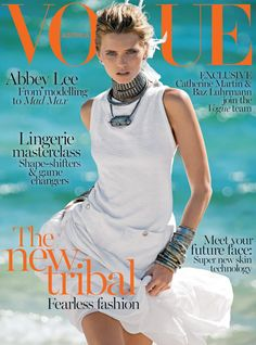 Abbey Lee Kershaw in Chanel for Vogue Australia April 2014
