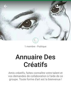 Création d'une communauté sur Google+  Cette communauté vous permettra d'entrer en relation avec d'autres créatifs de tout horizon. Faites-vous connaître afin de réaliser de beaux projets en collaboration avec d'autres passionnés.  Dessins, peintures, illustrations, écriture, photographies, bijoux, etc.... Toute forme d'art est la bienvenue !