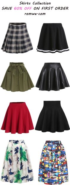 Skirts Collection 2016  | romwe.com