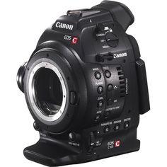Canon EOS C100 Cinema EOS Camera (Body Only) 6340B002 B&H Photo