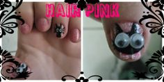 Hair Pink: Minhas Unhas