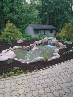 pond build before after lancaster pa, ponds water features