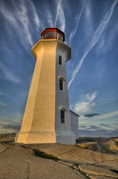 Peggys Cove Lighthouse by Stephen Presutti, via 500px.