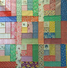 Tuesday Quilt Club- This blog has a bunch of ideas