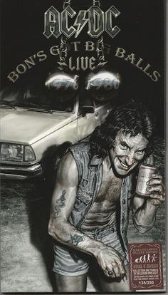 AC-DC - Bons Got Big Balls Live - CD-DVD - Front