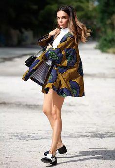 扔掉暴丑的防晒服!披一件印花和风外套出街才是夏天的正确打开方式