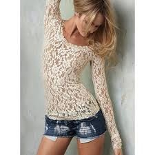 lace top... sexy yet understated ...love you <3 @Mikayla Williamson