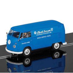 Scalextric - VW Panelvan - Chick Iversen VW-Porsche (C3645) - Scalextric - VW Panelvan - Chick Iversen VW-Porsche (C3645) #slotcar #scalextric