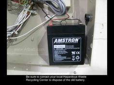 How to replace home alarm battery