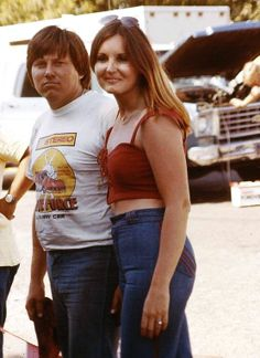 John Force in the early days - Is it me or does John Force look like Barney from the simpsons?