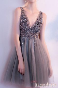 best=V Neck Short Tulle Prom Dress Beaded Women Party Dress , Shop plus size prom dresses and full figured formal gowns with an affordable price. Discounted party/evening wears for large ladies are up to Off. Party Dresses For Women, Prom Party Dresses, Homecoming Dresses, Sexy Dresses, Evening Dresses, Short Dresses, Wedding Dresses, Dress Party, Elegant Dresses