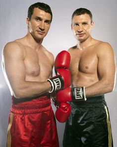Wladimir & Vitali Klitschko. the brothers who conquer the boxing world. amazing fighters, great men, great rolemodels to every young fighter.
