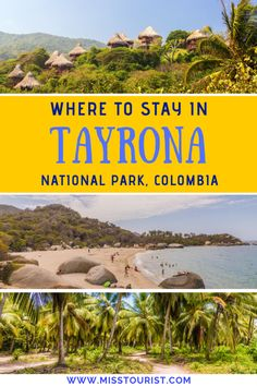 Where To Stay In Tayrona National Park, Colombia Visit Colombia, Colombia Travel, South America Destinations, South America Travel, Travel Destinations, North America, Cabo San Lucas, Travel And Tourism, Asia Travel