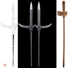 Katakama Yari: Mumei(unsigned) | Japanese Sword Shop Aoi-Art.