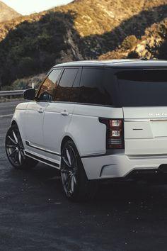 artoftheautomobile:  Vorsteiner Range Rover Veritas via...