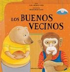The Good Neighbors: the story includes teaching fractions, as the neighbors share and help each other.  The story also has a great theme of saving for the future and helping others with extra.  I can't find it in English print.