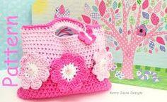 Resultado de imagem para children's crochet bag pattern