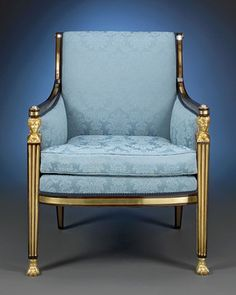 Antique Furniture, English Regency, Arm Chair ~ M.S. Rau Antiques Circa 1815