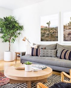 """We love a laid-back California aesthetic, and this home nails the look. Let us what you think in the comments below; then tap the link in our bio to see…"""