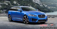 Jaguar adianta perua esportiva XFR-S Sportbrake para Genebra | Notícias Automotivas - Carros