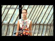 """Mary Katrantzou"" Spring Summer 2011"
