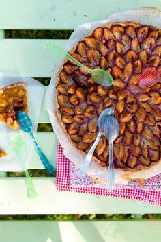 Plum pie A summer of fruit tarts | La Tartine Gourmande