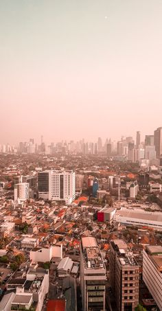 """Taken at 24th floor of Indonesian national library. Had a same height as """"Monumen Nasional"""" or """"Monas"""", the trademark for Jakarta city."""
