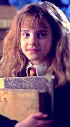 Hermione Granger. Look how cute she is!